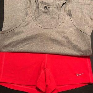 Nike workout outfit bundle